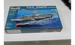 05814 U.S.S. Nimitz (cvn-68) 1:1200 Revell Возможен обмен, сборные модели кораблей, флота