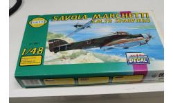 0821 Savoia Marchetti S.M. 79 Sparviero 1:48 Smer возможен обмен, сборные модели авиации, Spitfire, scale0