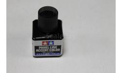 87131 Краска для финальной отделки модели (черная,40мл) Tamiya