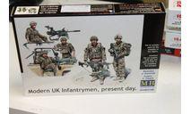 35180 Современная британская пехота, наше время 1:35 MasterBox  Возможен обмен, миниатюры, фигуры, scale0