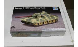 07121 German E-100 Super Heavy Tank  1:72 Trumpeter