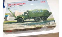35520 ЗиЛ-131 MTO-AT, Советский армейский автомобиль 1:35 ICM  Возможен обмен, сборная модель автомобиля, scale0