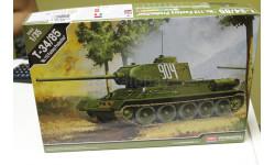 Обмен 13290 T-34/85'№112 Factory Production' 1:35 Academy, сборные модели бронетехники, танков, бтт, 1/35