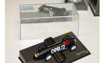 OPEL RAK 2 1928 Black 1:43 IXO Opel Collection, масштабная модель, 1/43