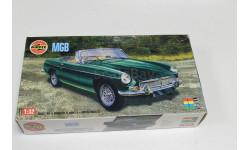 Обмен. 02420 MGB 1:32 Airfix, сборная модель автомобиля, 1/32, Jaguar