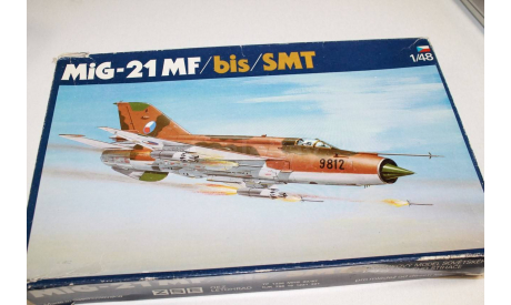 MIG-21MF 1:48 OEZ Возможен обмен, сборные модели авиации, 1/48, Spitfire