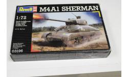 Обмен. 03196 M4A1 Sherman 1:72 Revell, сборные модели бронетехники, танков, бтт, 1/72