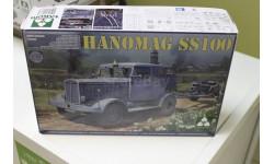 Обмен. 2068 WWII German Tractor Hanomag 1:35 Tacom, сборные модели бронетехники, танков, бтт, 1/35