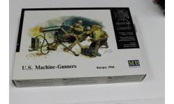 Обмен. 3519 Американские пулеметчики 1:35 MasterBox, миниатюры, фигуры, 1/35