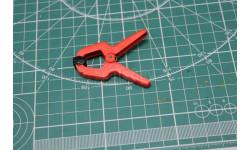 4136 - Зажим пластиковый, 25 мм,  JAS Возможен обмен, инструменты для моделизма, расходные материалы для моделизма