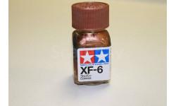 XF-6 Copper краска эмалевая 10 мл. Tamiya