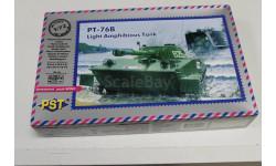 72053 ПТ-76 Б 1:72 PST возможен обмен, сборные модели бронетехники, танков, бтт, 1/72