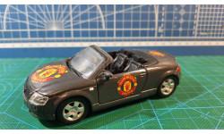 AUDI TT Roadster FC 'Manchester United', grey metallic