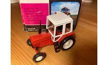 ! С 1 РУБЛЯ ! Трактор МТЗ - 82 (СССР, металл) штамп на коробке - 1990 год 1/43, масштабная модель трактора, Агат/Моссар/Тантал, scale43