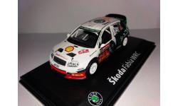 SKODA  FABIA WRC   №12, масштабная модель, 1:43, 1/43, Abrex