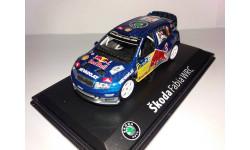 FABIA WRC RED BULL №12, масштабная модель, 1:43, 1/43, Abrex