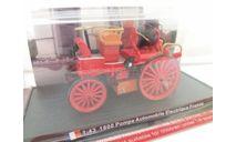 1900 POMPE AUTOMOBILE ELECTRIQUE FRANCE   1:43  AMERCOM серия  ПОЖАРНЫЕ АВТО, журнальная серия масштабных моделей, Амерком, scale43
