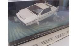 LOTUS ESPRIT - THE SPY WHO LOVED ME   АВТОМОБИЛИ ДЖЕЙМСА БОНДА, масштабная модель, 1:43, 1/43, The James Bond Car Collection (Автомобили Джеймса Бонда)