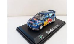 FABIA WRC RED BULL №11, масштабная модель, 1:43, 1/43, Abrex