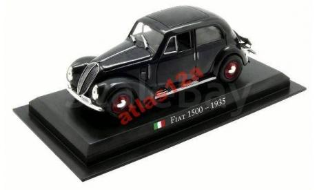 FIAT 1500 - 1935        LEGENDARNE SAMOCHODY (ПОЛЬША), журнальная серия масштабных моделей, 1:43, 1/43, AMERCOM