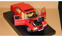 Mercedes-Benz 230E W123 Red 1983 Revell 08407R, масштабная модель, 1:18, 1/18