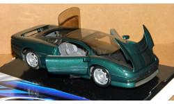 Jaguar XJ220 1991 BRG Maisto 1/24