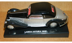 Lancia Astura Coupe 1935 Silver-Black DeAgostini, масштабная модель, 1:43, 1/43