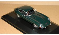 Jaguar E-type BRG Atlas 4641102, масштабная модель, Volvo, scale43