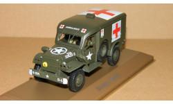 Dodge WC54 Ambulance USA Military WWII Atlas 1/43, масштабная модель, 1:43