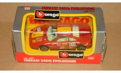 Ferrari 348tb Evoluzione #177 Bburago 1/43