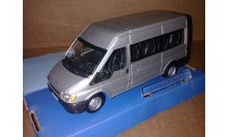 Ford Transit Bus Mk.5 2000 Silver Cararama