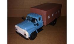 Газ-53 Хлеб голубой/коричневый Компаньон