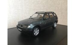 BMW X3 3.0d E83 2003 Grey Metallic Kyosho 80420300732, масштабная модель, 1:43, 1/43
