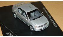 Renault Logan 2006 Prestige Silver Eligor 7711422001uv1, масштабная модель, scale43