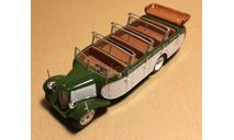 Citroen T23RU Chassaing France 1947 Bus with open roof Bus Collection #11 Hachette, масштабная модель, 1:43, 1/43, Citroën
