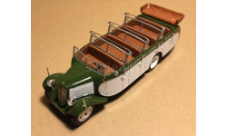 Citroen T23RU Chassaing France 1947 Bus with open roof Bus Collection #11 Hachette