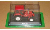МТЗ-102 красный журналка 'Тракторы' №103 Hachette, масштабная модель, Тракторы. История, люди, машины. (Hachette collections), scale43