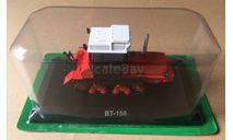 ВТ-150 красный журналка 'Тракторы' №104 Hachette, масштабная модель, scale43, Тракторы. История, люди, машины. (Hachette collections)