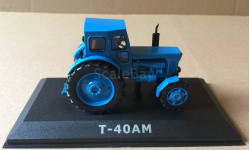 Т-40АМ синий журналка 'Тракторы' №18 Hachette