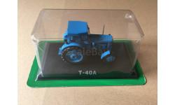 Т-40А синий журналка 'Тракторы' №25 Hachette