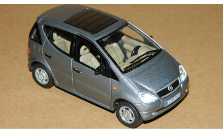 Mercedes-Benz A-class A160 W168 5-doors Dark Grey Metallic Cararama 1/43, масштабная модель, 1:43, Bauer/Cararama/Hongwell