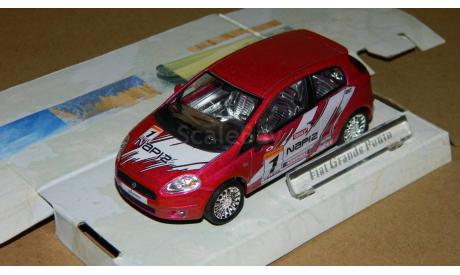 Fiat Grand Punto Cararama, масштабная модель, 1:43, 1/43, Bauer/Cararama/Hongwell