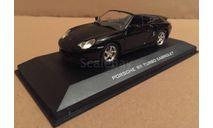 Porsche 911 Turbo Cabriolet Black JoyCity / Automaxx 8200, масштабная модель, 1:43, 1/43