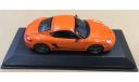 Porsche Cayman S Sport 2008 Orange Minichamps 400065625, масштабная модель, scale43
