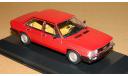 Audi 100 GL (C2) 1979 Red Minichamps 400015101, масштабная модель, scale43