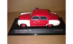 Mercedes-Benz 180 1956 W120 Feuerwehr Frankfurt Minichamps