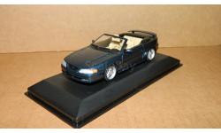 Ford Mustang Cabriolet 1994 Blue Metallic Minichamps 430085631, масштабная модель, 1:43, 1/43