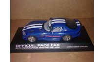 Dodge Viper Pace Car Indy 500 1996 Minichamps 430144023, масштабная модель, 1:43, 1/43
