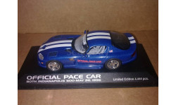 Dodge Viper Pace Car Indy 500 1996 Minichamps