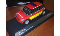 BMW Mini One Feuerwehr Munchen Minichamps
